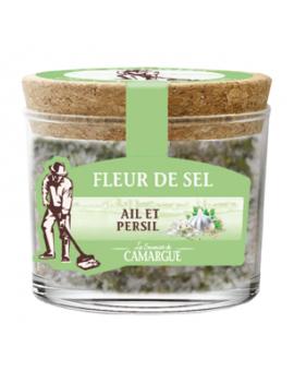 Fleur de sel de Camargue - Ail et persil 130g