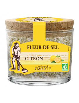 Fleur de sel de Camargue - Citron 140g