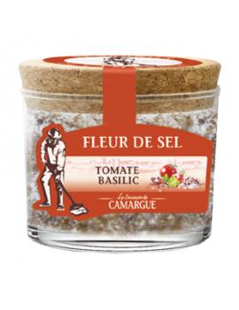 Fleur de sel de Camargue - Tomate basilic 130g