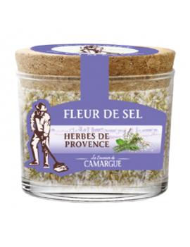 Fleur de sel de Camargue - Herbes de provence 120g