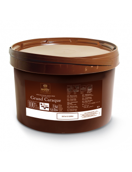 Pâte de cacao pure 100% Grand Caraque - 3kg