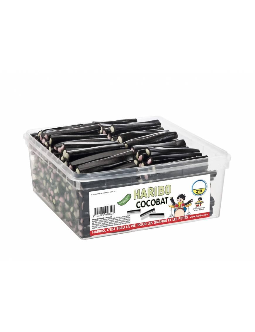 Haribo Cocobat boite tubo 210 pieces