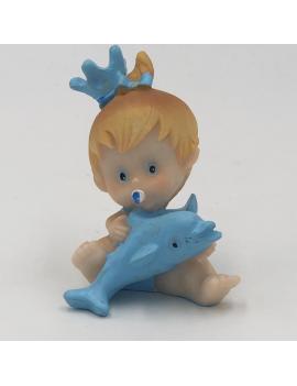 Bébé couronne bleu - 3 modèles