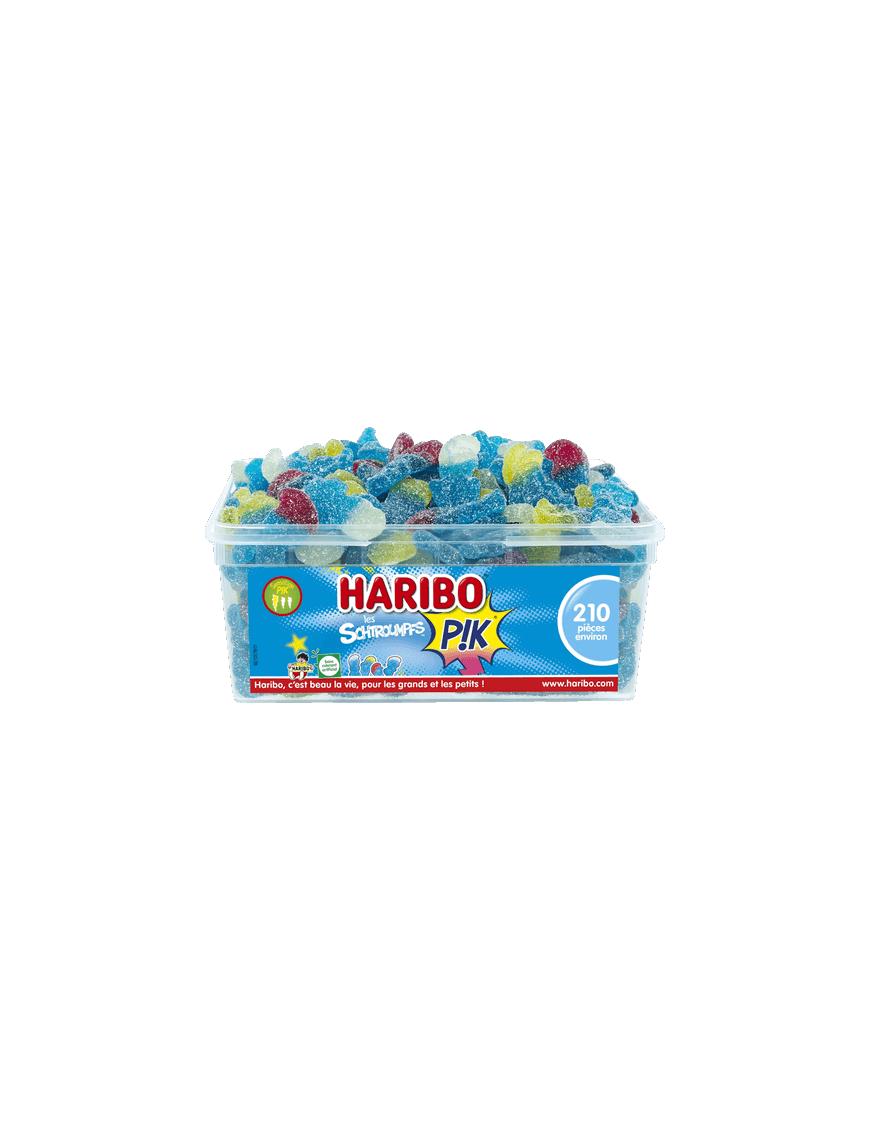 Haribo les Schtroumpfs PIK boîte 210 piéces