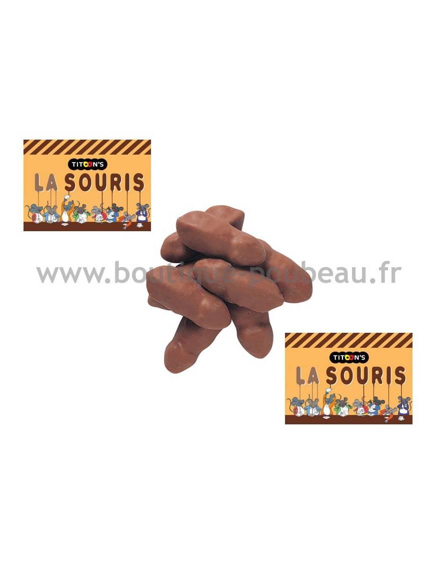 Souris Mitsy au caramel - sachet de 500 gr