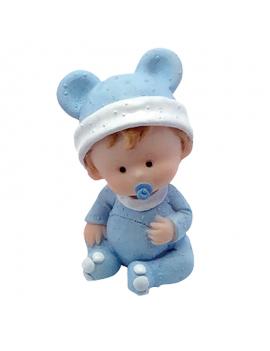 Bébé couronne bleu