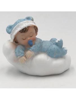 Bébé oreiller bleu - 2 modèles