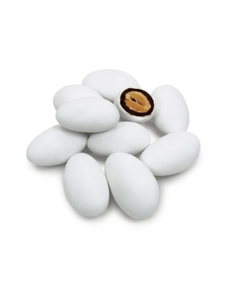 Dragée Chocoviennoise Blanche Pécou - 500 gr