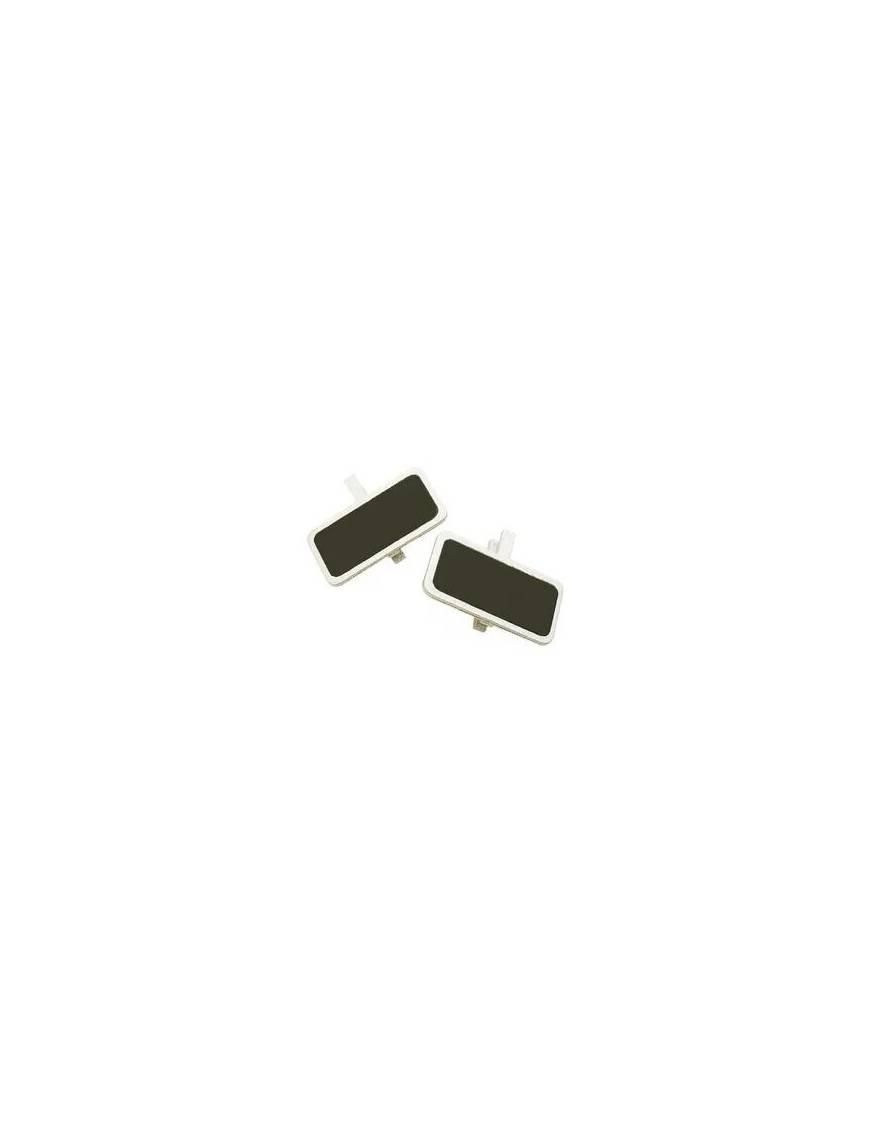 Mini-Ardoise métallisée sur pince x6 - Hobi Argent