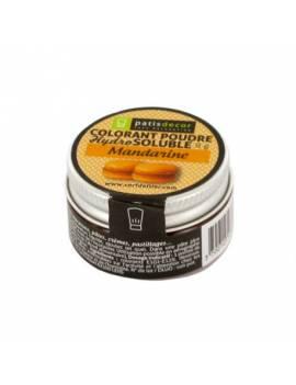Colorant poudre hydrosoluble orange mandarine - 8g