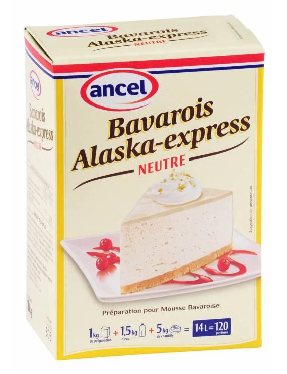 Préparation Bavarois Alaska-Express Neutre - Ancel