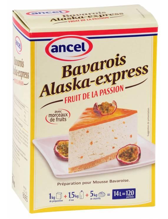 Préparation Bavarois Alaska-Express Fruit de la Passion-Ancel