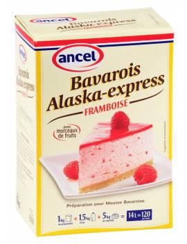 Préparation Bavarois Alaska-Express Framboise-Ancel