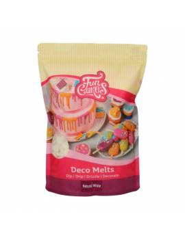Deco Melts Blanc naturel - 1KG FunCakes