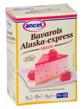Préparation Bavarois Alaska-Express Fraise-Ancel
