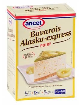 Préparation Bavarois Alaska-Express Poire-Ancel