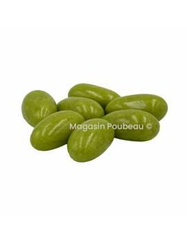 Dragée LiquiCroc goût Caramel Beurre Salé 500gr - Vert tilleul - Pécou