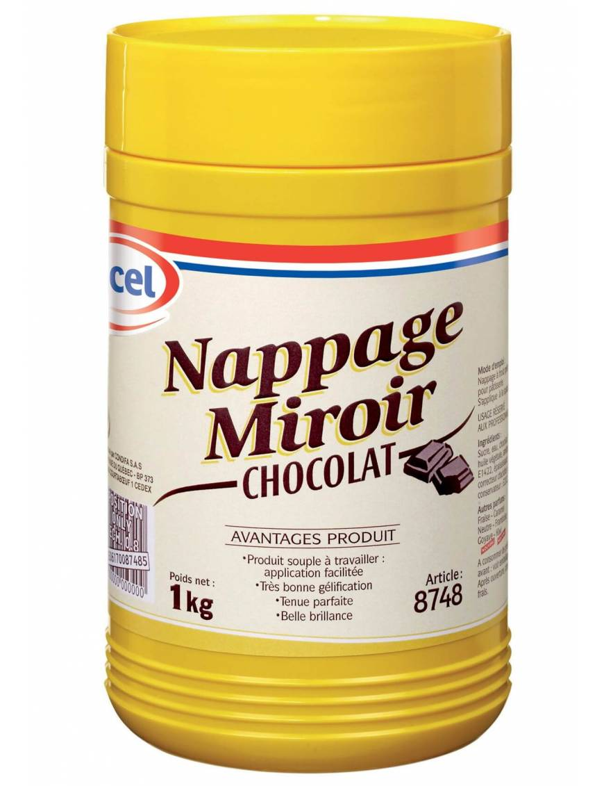 Nappage Miroir à froid Chocolat- Ancel