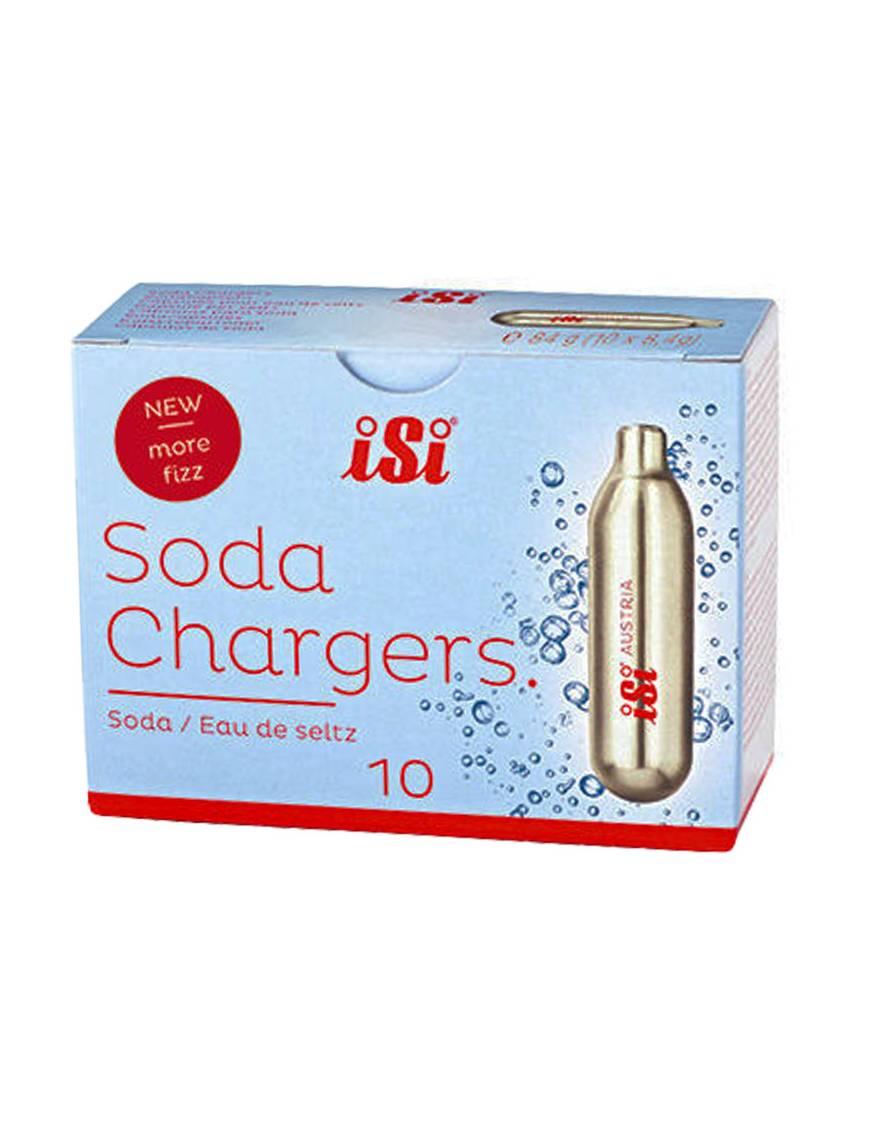 Boîte 10 capsules eau seltz  - Matfer