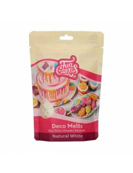 Deco Melts Blanc naturel 250G - FunCakes