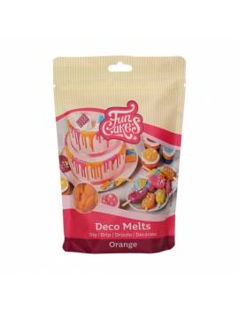 Deco Melts Orange  - 250gr FunCakes