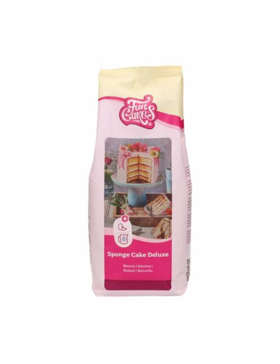 Préparation pour Génoise/biscuit de luxe 1kg - FunCakes