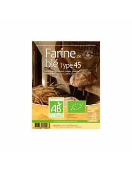 Farine T45 les Grami'bio - 1KG