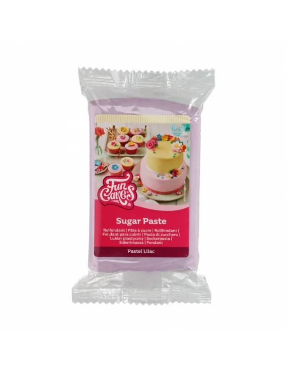 Pâte à Sucre Lilas FunCakes 250 gr
