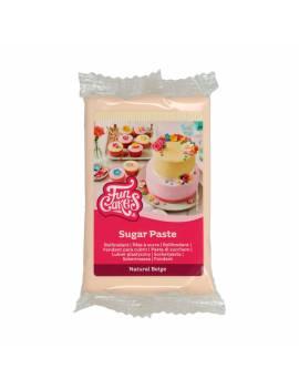 Pâte à sucre beige naturel FunCakes 250gr