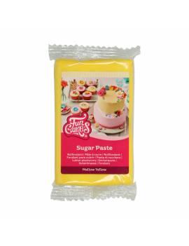 Pâte à sucre Jaune Vif FunCakes 250gr