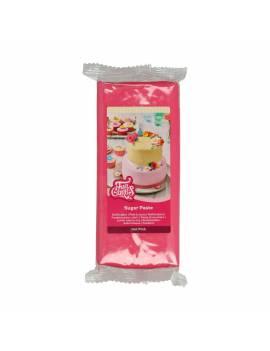 Pâte à Sucre Rose Vif 1kg -...