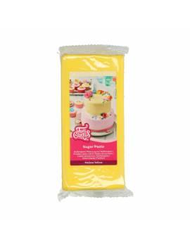 Pâte à Sucre Jaune 1kg - FunCakes
