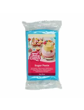 Pâte à sucre bleu turquoise FunCakes 250gr