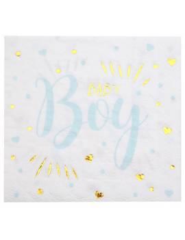 Serviette Baby shower girl x20