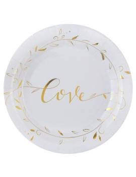 Assiette Just married...