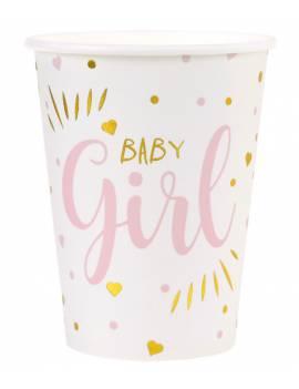 Gobelet Baby Shower Girl x10
