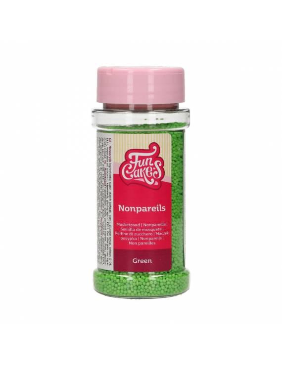 Mini-Perle verte en sucre 80g - FunCakes