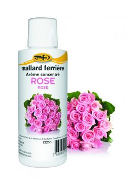 Arôme concentré à la rose - Mallard Ferrière
