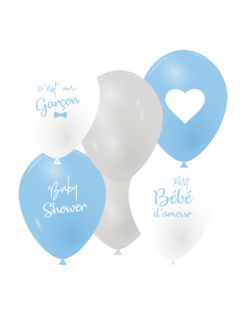 Ballon baby shower x6
