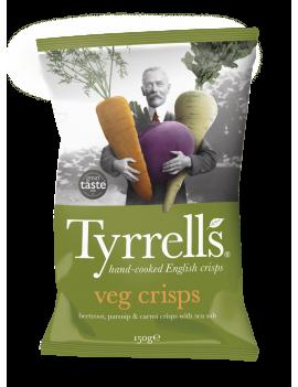 Chips Tyrrells veg crisps - 150g