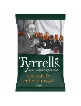 Chips Tyrrells sel et vinaigre de cidre - 40g