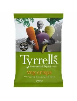 Chips Tyrrells veg crisps - 40g