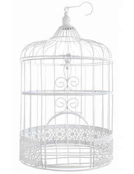 Tirelire cage blanche - Santex