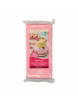 Pâte à sucre rose pâle 1 kg - Funcakes