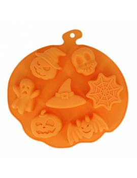 Moule silicone sujet halloween x7 - Patisdécor