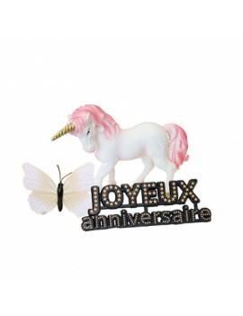 Kit décor licorne - Pâtisdécor