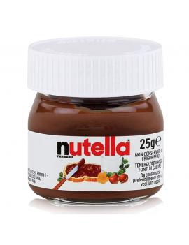Nutella mini pot verre 25g...