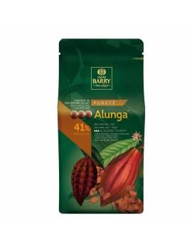 Chocolat au Lait de couverture  Alunga 41% Cacao Barry