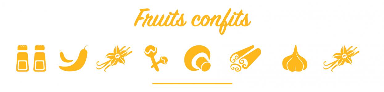 Fruits confits