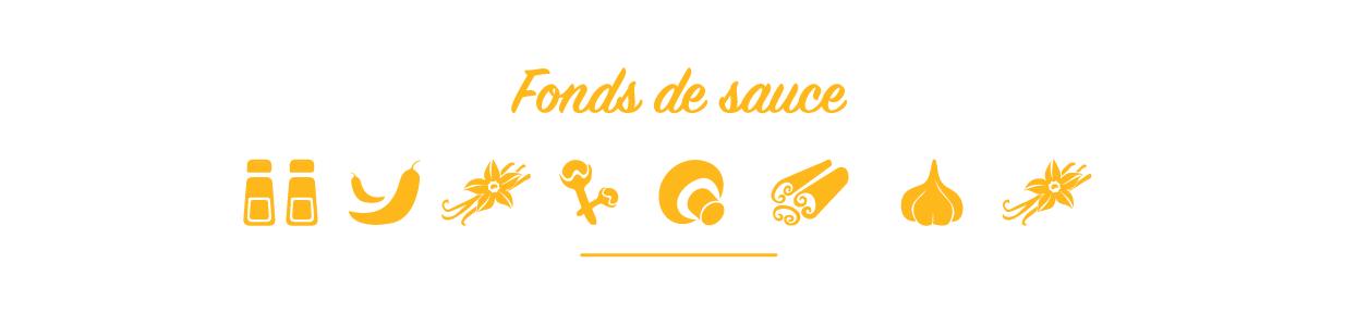 Fonds de sauces et marinades